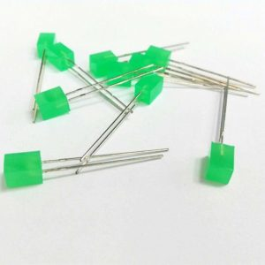 LED مکعبی سبز 5x5 بسته250 تایی