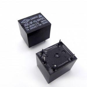 رله 24V تک کنتاکت میلون مارک LIMING کد JQC-3F-1C-24VDC