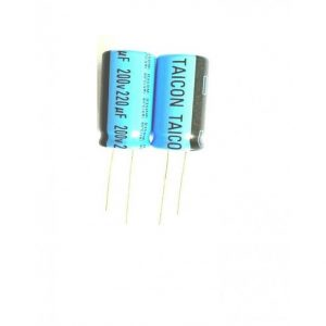خازن الکترولیتی 220uF / 200V