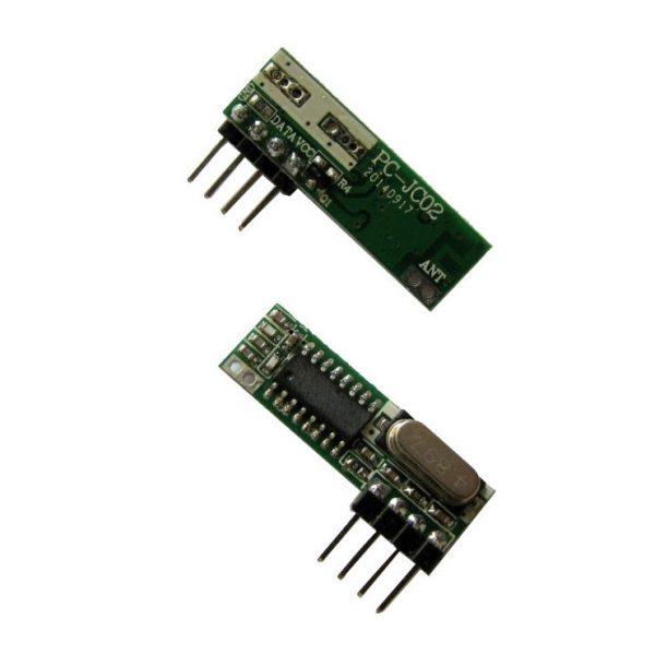 گیرنده ریموت ASK 315MHz سوپرهترودین مدل PC-JC02