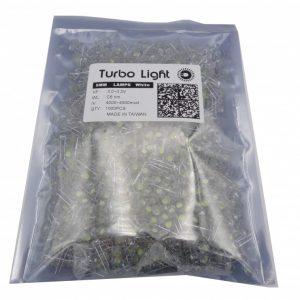 LED کلاهی چیپ بزرگ تایوانی سفید مارک Turbo Light