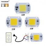 LED COB آفتابی 50W 220V با درایور داخلی