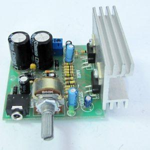 ماژول آمپلی فایر صوتی 18W استریو TDA2030A