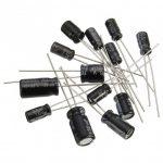 خازن الکترولیتی 22 میکروفاراد - 100 ولت