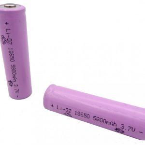باتری لیتیوم یون 3.7V سایز 18650