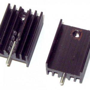 هیت سینک مشکی TO220 سایز 9x14x19