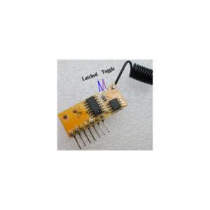ماژول گیرنده مخابراتی RXC6 با فرکانس 315 مگاهرتز و قابلیت لرنینگ