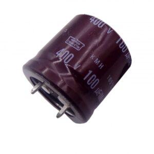 خازن الکترولیتی 100uF / 400V